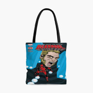 Deadpool ComicCustom Personalized Tote Bag Polyester with Small Medium Large Size