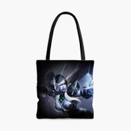 Drow Ranger Dota 2Custom Personalized Tote Bag Polyester with Small Medium Large Size