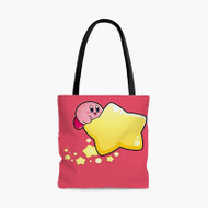 Kirby Super Smash BrossCustom Personalized Tote Bag Polyester with Small Medium Large Size