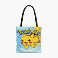 Pikachu PokemonCustom Personalized Tote Bag Polyester with Small Medium Large Size