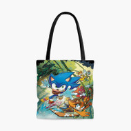 Sonic BoomCustom Personalized Tote Bag Polyester with Small Medium Large Size