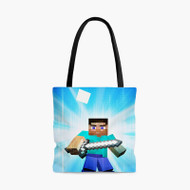 Steve MinecraftCustom Personalized Tote Bag Polyester with Small Medium Large Size