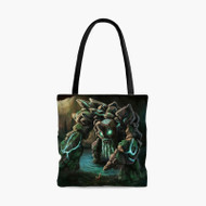 Tiny Dota 2Custom Personalized Tote Bag Polyester with Small Medium Large Size