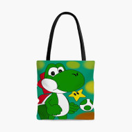 Yoshi Super Mario BrothersCustom Personalized Tote Bag Polyester with Small Medium Large Size