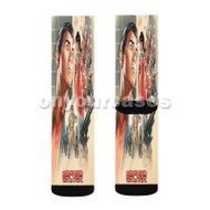 Archer Custom Sublimation Printed Socks Polyester Acrylic Nylon Spandex with Small Medium Large Size