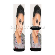 Aryana Sayeed Custom Sublimation Printed Socks Polyester Acrylic Nylon Spandex with Small Medium Large Size