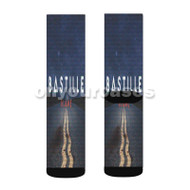 Bastille Blame Custom Sublimation Printed Socks Polyester Acrylic Nylon Spandex with Small Medium Large Size