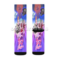 Bishoujo Yuugi Unit Crane Game Galaxy Custom Sublimation Printed Socks Polyester Acrylic Nylon Spand with Small Medium Large Size