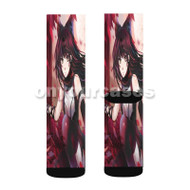 Blake Belladonna RWBY Custom Sublimation Printed Socks Polyester Acrylic Nylon Spandex with Small Medium Large Size