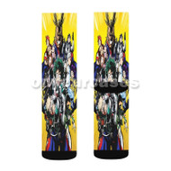 Boku no Hero Academia Custom Sublimation Printed Socks Polyester Acrylic Nylon Spandex with Small Medium Large Size