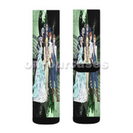 Bungou Stray Dogs 2nd Season Custom Sublimation Printed Socks Polyester Acrylic Nylon Spandex with Small Medium Large Size