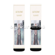 Cage the Elephant Tell Me I m Pretty Custom Sublimation Printed Socks Polyester Acrylic Nylon Spande with Small Medium Large Size