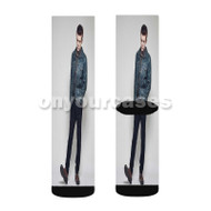 Cameron Monaghan 2 Custom Sublimation Printed Socks Polyester Acrylic Nylon Spandex with Small Medium Large Size
