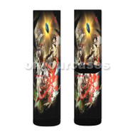 Chain Chronicle Haecceitas no Hikari Chapter 1 Custom Sublimation Printed Socks Polyester Acrylic Ny with Small Medium Large Size