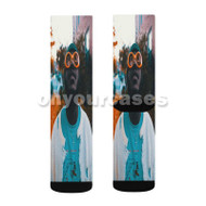 Choo Jackson Choo Where U Goin Custom Sublimation Printed Socks Polyester Acrylic Nylon Spandex with Small Medium Large Size