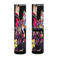 Chris Brown Before The Party Custom Sublimation Printed Socks Polyester Acrylic Nylon Spandex with Small Medium Large Size