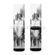 Chris Brown Section Boyz OHB Attack The Block Custom Sublimation Printed Socks Polyester Acrylic with Small Medium Large Size