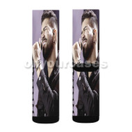 Dilsinho P ssimo Neg cio Custom Sublimation Printed Socks Polyester Acrylic Nylon Spandex with Small Medium Large Size
