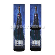 Doctor Who The Return of Doctor Mysterio Custom Sublimation Printed Socks Polyester Acrylic Nylon Sp with Small Medium Large Size