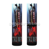 Donald Trump God Emperor Custom Sublimation Printed Socks Polyester Acrylic Nylon Spandex with Small Medium Large Size