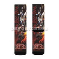 Drifters Custom Sublimation Printed Socks Polyester Acrylic Nylon Spandex with Small Medium Large Size