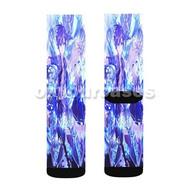 Hand Shakers Custom Sublimation Printed Socks Polyester Acrylic Nylon Spandex with Small Medium Large Size