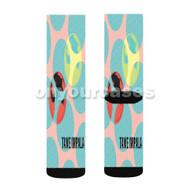 Tame Impala 2 Custom Sublimation Printed Socks Polyester Acrylic Nylon Spandex with Small Medium Large Size