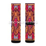 DNCE Kissing Strangers Custom Sublimation Printed Socks Polyester Acrylic Nylon Spandex with Small Medium Large Size
