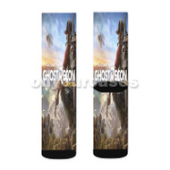 Ghost Recon Wildlands Custom Sublimation Printed Socks Polyester Acrylic Nylon Spandex with Small Medium Large Size