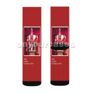Honor DJ Cassidy Feat Grace Lil Yachty Custom Sublimation Printed Socks Polyester Acrylic Nylon Sp with Small Medium Large Size