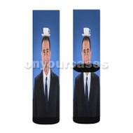 Jerry Seinfeld Custom Sublimation Printed Socks Polyester Acrylic Nylon Spandex with Small Medium Large Size
