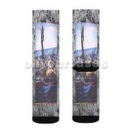 Pictures UICIDEBOY Feat Maxo Kream Custom Sublimation Printed Socks Polyester Acrylic Nylon Spande with Small Medium Large Size