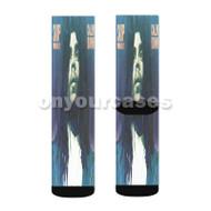 Skip Marley Calm Down Custom Sublimation Printed Socks Polyester Acrylic Nylon Spandex with Small Medium Large Size