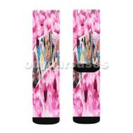 Jeremih Forever I m Ready Custom Sublimation Printed Socks Polyester Acrylic Nylon Spandex with Small Medium Large Size