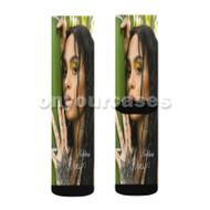 Kehlani Again Custom Sublimation Printed Socks Polyester Acrylic Nylon Spandex with Small Medium Large Size