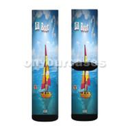 Lil Boat 2 yachty Custom Sublimation Printed Socks Polyester Acrylic Nylon Spandex with Small Medium Large Size
