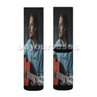 sturgill simpson Custom Sublimation Printed Socks Polyester Acrylic Nylon Spandex with Small Medium Large Size