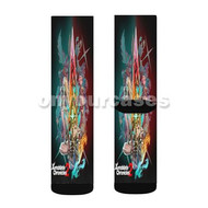 Xenoblade Chronicles 2 Custom Sublimation Printed Socks Polyester Acrylic Nylon Spandex with Small Medium Large Size