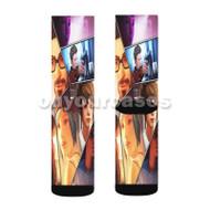 Life is Strange 2 Custom Sublimation Printed Socks Polyester Acrylic Nylon Spandex with Small Medium Large Size