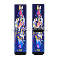 Outertale Undertale Custom Sublimation Printed Socks Polyester Acrylic Nylon Spandex with Small Medium Large Size