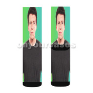 Philip De Franco Custom Sublimation Printed Socks Polyester Acrylic Nylon Spandex with Small Medium Large Size