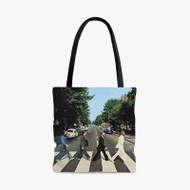 Abbey Road The Beatles Custom Personalized Tote Bag Polyester with Small Medium Large Size