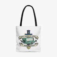 Adventure Time BMO Custom Personalized Tote Bag Polyester with Small Medium Large Size