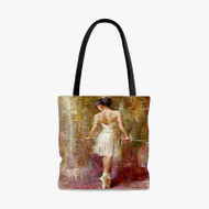 Andrew Atroshenko Purity Custom Personalized Tote Bag Polyester with Small Medium Large Size