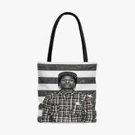 Asap Rocky Rapper Flag Custom Personalized Tote Bag Polyester with Small Medium Large Size