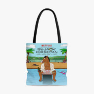 Bo Jack Horseman Tv Series Custom Personalized Tote Bag Polyester with Small Medium Large Size