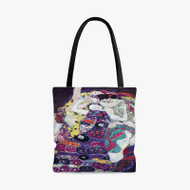 Gustav Klimt The Virgin Custom Personalized Tote Bag Polyester with Small Medium Large Size
