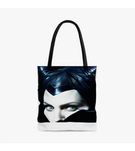 Maleficent Angelina Jolie Custom Personalized Tote Bag Polyester with Small Medium Large Size
