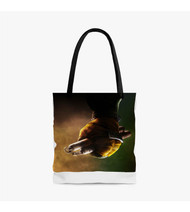 Michaelangelo Teenage Mutant Ninja Turtles Custom Personalized Tote Bag Polyester with Small Medium Large Size