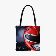 Mighty Morphin Power Ranger 2016 Custom Personalized Tote Bag Polyester with Small Medium Large Size